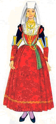 Il costume tipico for Vestito tradizionale giapponese femminile